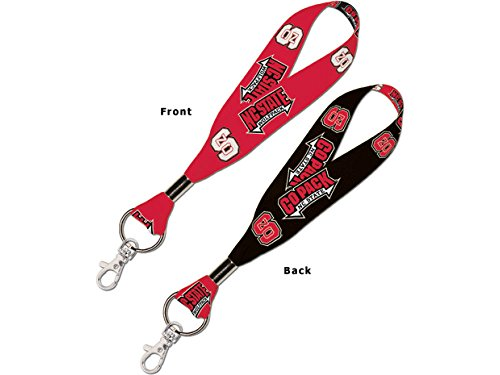 WinCraft NCAA North Carolina State University 71826014 Lanyard Key Strap, 1