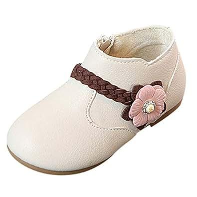 Zapatos de Vestir para Bebé Niñas Otoño Invierno 2018 Moda PAOLIAN Zapatos Botines de Cuero de ...