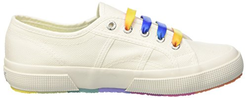 Outsole White 2750 Multicolors cotw Sneaker Donna Superga C7P8qgwg