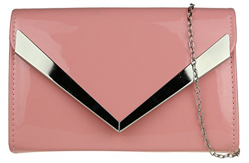 Girly Girly Girly HandBags Elegant Bag Clutch Bag Clutch HandBags Elegant Pink Pink Frame Frame HandBags 008rqg