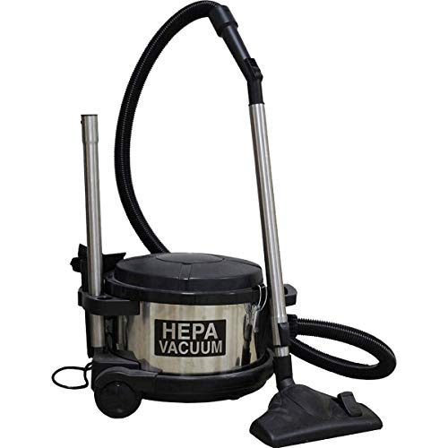 HP 4 Gallon Dry HEPA 390 ASB Canister Vacuum