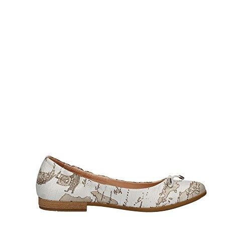 Alviero Ballet 0041 Women 0266 Flats White Martini Fqr8P0wF