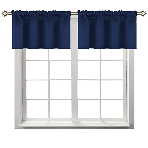 BGment Rod Pocket Valance Curtains