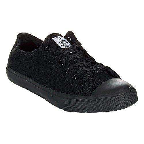 Bleeding Chaussures Noir Montantes En Toile Heart R6wqRxZ
