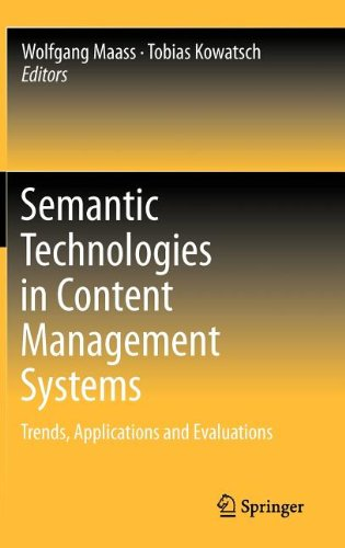 [PDF] Semantic Technologies in Content Management Systems: Trends, Applications and Evaluations Free Download | Publisher : Springer | Category : Computers & Internet | ISBN 10 : 3642215491 | ISBN 13 : 9783642215490