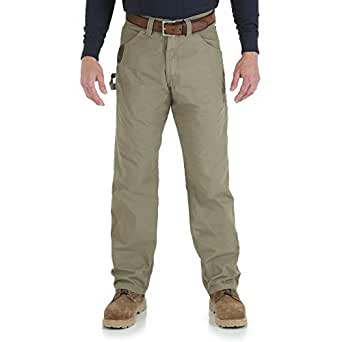 Wrangler Riggs Workwear Men's Ripstop Carpenter Jean,Bark,30X30