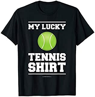 ⭐️⭐️⭐️ My Lucky Tennis . Funny Tennis s Tennis Lover Gift Need Funny Short/Long Sleeve Shirt/Hoodie