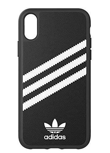 57ac5d4989b0 Amazon.com  Adidas Samba Case for iPhone XR in Black White  Cell ...