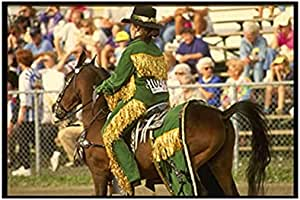 Photo Block Horse Landscape Tableau 45cmx 30cm - 2724820157727