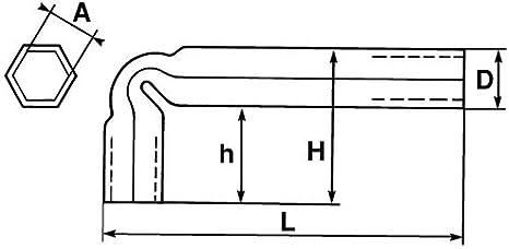 Llave de tubo acodada SAM Outillage 86-X