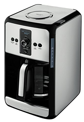 KRUPS, 12-Cup Programmable Turbo Filter Coffee Maker, Stainl