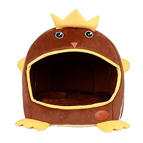 Arena para gatos, 1 nido 2 Manta de cama Usepet, Peluche corto para latas de felpa Lavado para gatos, Impermeabilizante...
