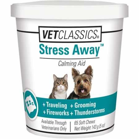 Garmon Corp Stress Away for Dogs Cats (65 Soft Chews)