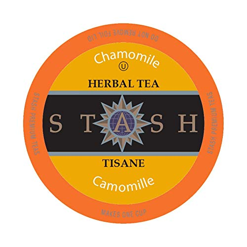 Stash Tea Chamomile Single-Cup Tea for Keurig K-Cup Brewers, 40 Count