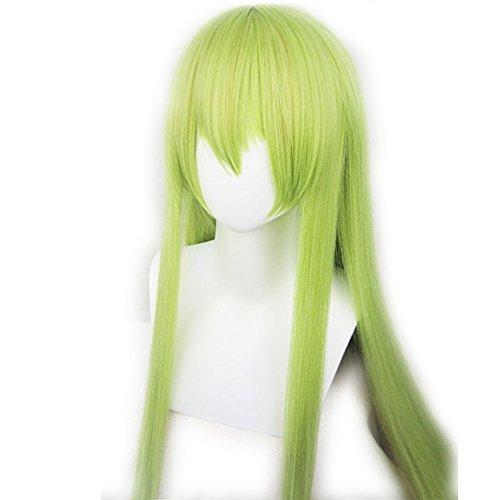 Fate Grand Order Cosplay FGO Enkidu Long Light Green Cosplay Wig ()