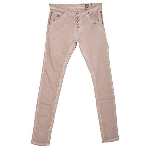 Lost in Paradise Vicky Boyfriend Slim Camel used–Jeans da donna Denim