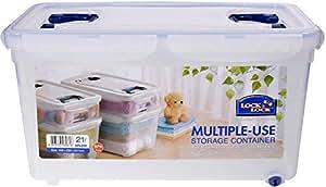 Lock & Lock Handy Multi-Use Storage Container, 21 Liter HPL896