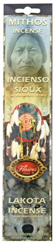 Lakota Sioux Purification Mythos Incense Cedar and Sage. - F-021 3PK