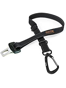 Mighty Paw Dog Seat Belt | Pet Safety Belt, Created with Human Seatbelt Material. All-Metal Hardware with Adjustable Length Strap. Exceeds Dog Safety Standards. Keep Your Dog Secure in The Car