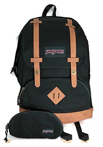 JANSPORT Baughman Laptop Backpack (Black Canvas)