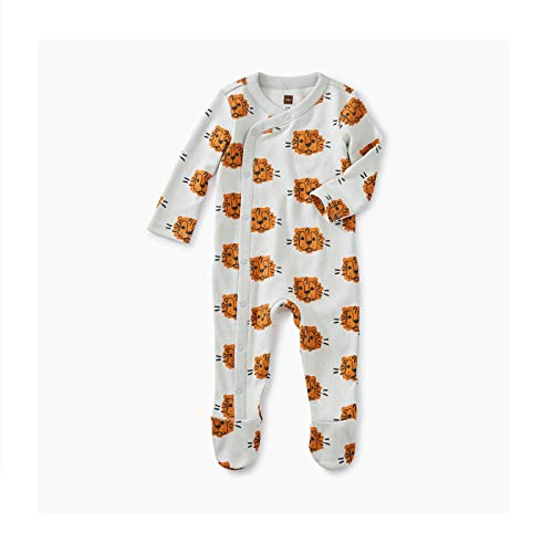 - Tea Collection Footed Romper, 0-3 Months, Cuddly Cubs