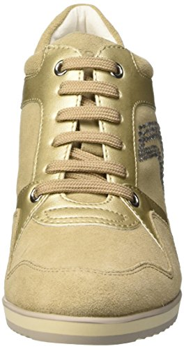 Top Geox Donna Beige D Scarpe Low Gold Taupe Lt Illusion A xqwBrXY1q