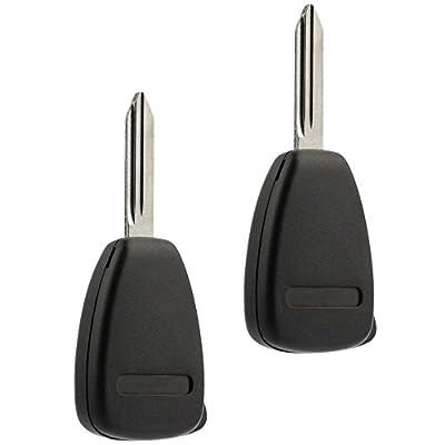Key Fob fits Dodge Caliber Dakota Durango Magnum Nitro Ram/Mitsubishi Raider 2004 2005 2006 2007 2008 2009 2010 2011 2012 (KOBDT04A), Set of 2: Automotive
