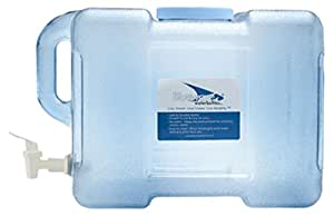 Bluewave Lifestyle BPA Free Portable Refrigerator Bottle with Valve, 3 gallon