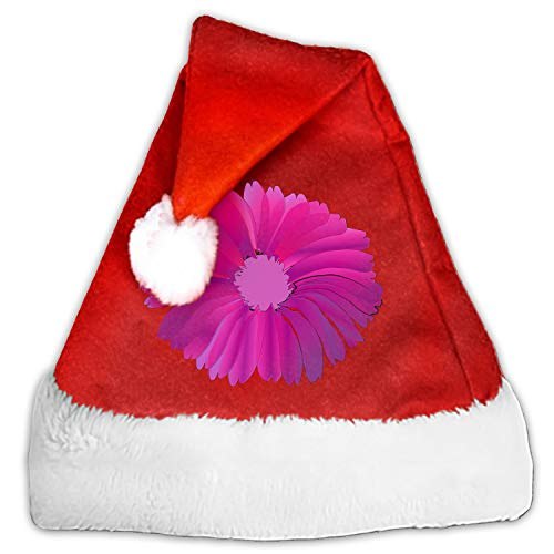 1pc Mini Flower Pink Huge Santa Hat Cup Bottles Cover Christmas Gift Home Christmas Decor -