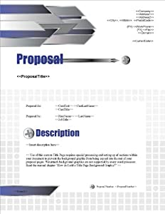 Proposal Pack Construction #1 V16.0