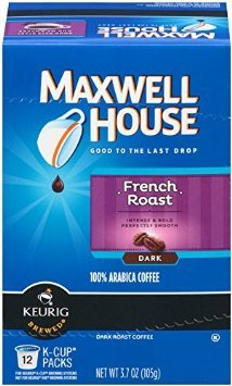 Maxwell House Cafe Collection French Roast 12ct (Pack of 3)