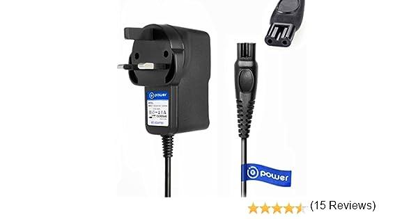 T-Power AC DC adaptador cargador rápido ((5 ft cable largo)) para ...