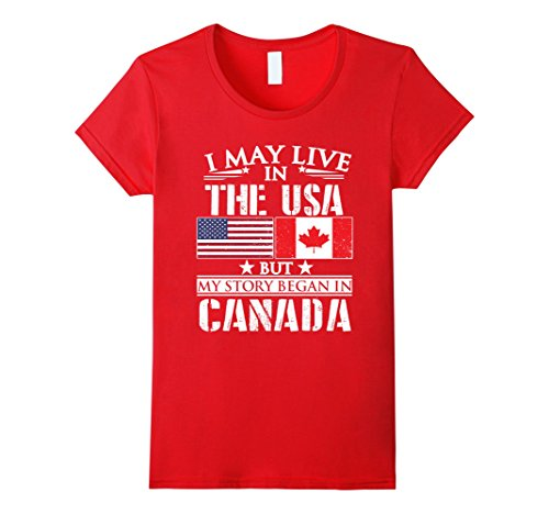 womens-i-may-live-in-usa-story-began-in-canada-flag-t-shirt-xl-red