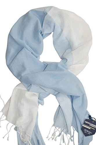 Couleurs Echarpe Foulard Farmer Ou Keffieh Blanc Bleu Cheiche Choix Viscose Au Gentleman Coton xqRT6pwF
