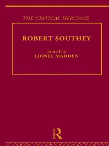 Download Robert Southey: The Critical Heritage (The Collected Critical Heritage : the Romantics) Pdf
