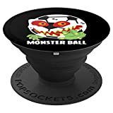 Soccer Monster Ball Scary Cool Goalie Halloween Costume PopSockets Grip and Stand for Phones and Tablets