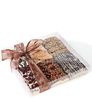 Barnetts Biscotti Cookies Gift Basket / Gourmet Food Italian Chocolate Biscotti / Unique Idea For Holiday Prime Corporate Gifts for Man or Woman, Thanksgiving, Christmas Baskets (Food Thank You Gifts)