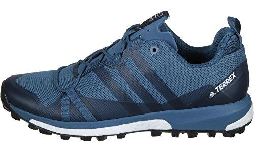 adidas Terrex Agravic, Scarpe da Escursionismo Uomo, Blu (Azubas/Negbas/Ftwbla), 50 EU