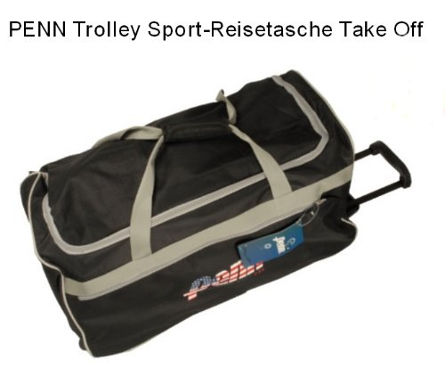PENN - TROLLEY - SPORTTASCHE - SPORT - / REISETASCHE - Penn Reisetasche mit Rollen 'Take off' American Style Trolley Reisetrolley Jumbo, NEUWARE