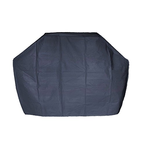 Mengsha's Lightweight Waterproof BBQ Patio Grill Cover Protection, Black, 57'' Width by Mengsha's