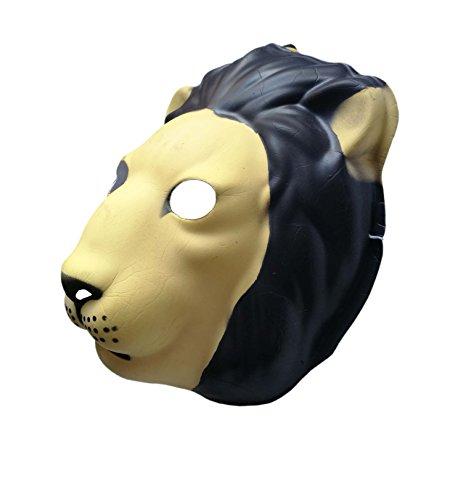 FixtureDisplays Used Lion PVC Mask Costume Accessory Child