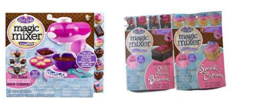 magic mixer brownie instructions