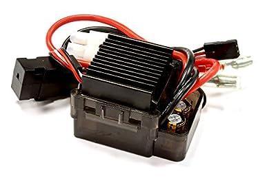 Integy RC Hobby C25558 Type III Rock Crawler ESC w/ Drag Brake (Limit: 55T Motors & 7.2V Input)