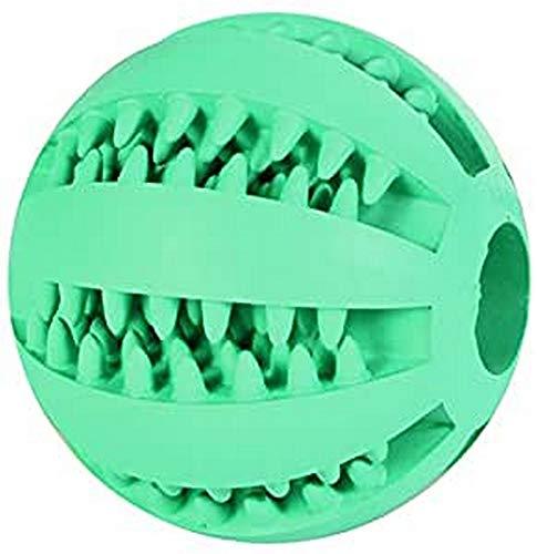 🥇 Trixie Pelota Caucho Para Perros – Pelota Mentolada Denta Fun Pelota Caucho Natural Accesorios Dentales Perro Higiene Dental ø5 cm
