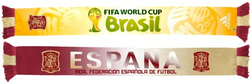 Spain Espana Adidas 2014 FIFA World Cup Authentic Team Scarf