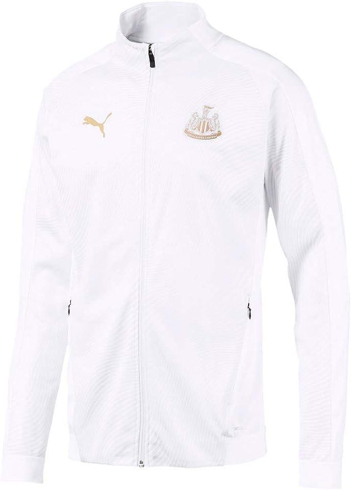 PUMA Newcastle Utd Stadium Jacket White//Gold 2019-2020