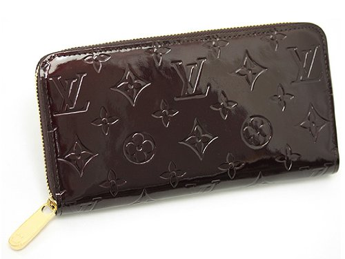 ルイヴィトン 財布 LOUIS VUITTON M93522 モノグラムヴェルニ アマラント ジッピーウォレット 長財布 B009DL10YW