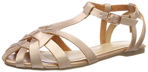 New Look WoMen Koleen Open Toe Heels Gold (Rose Gold 94)