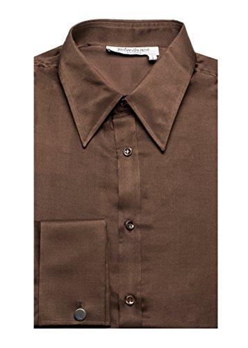 Yves Saint Laurent Men's Cotton Point Collar Dress Shirt - Yves Saint Laurent Clothes
