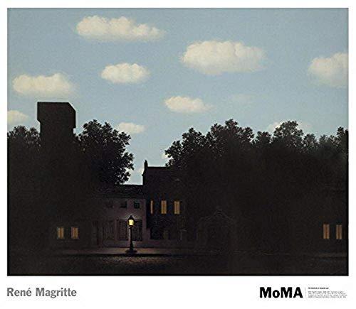 (Ucland Rene Magritte The Empire of Light II, 1950 Art Print Poster - 24x30 Fine Art Poster Print, 30x24)